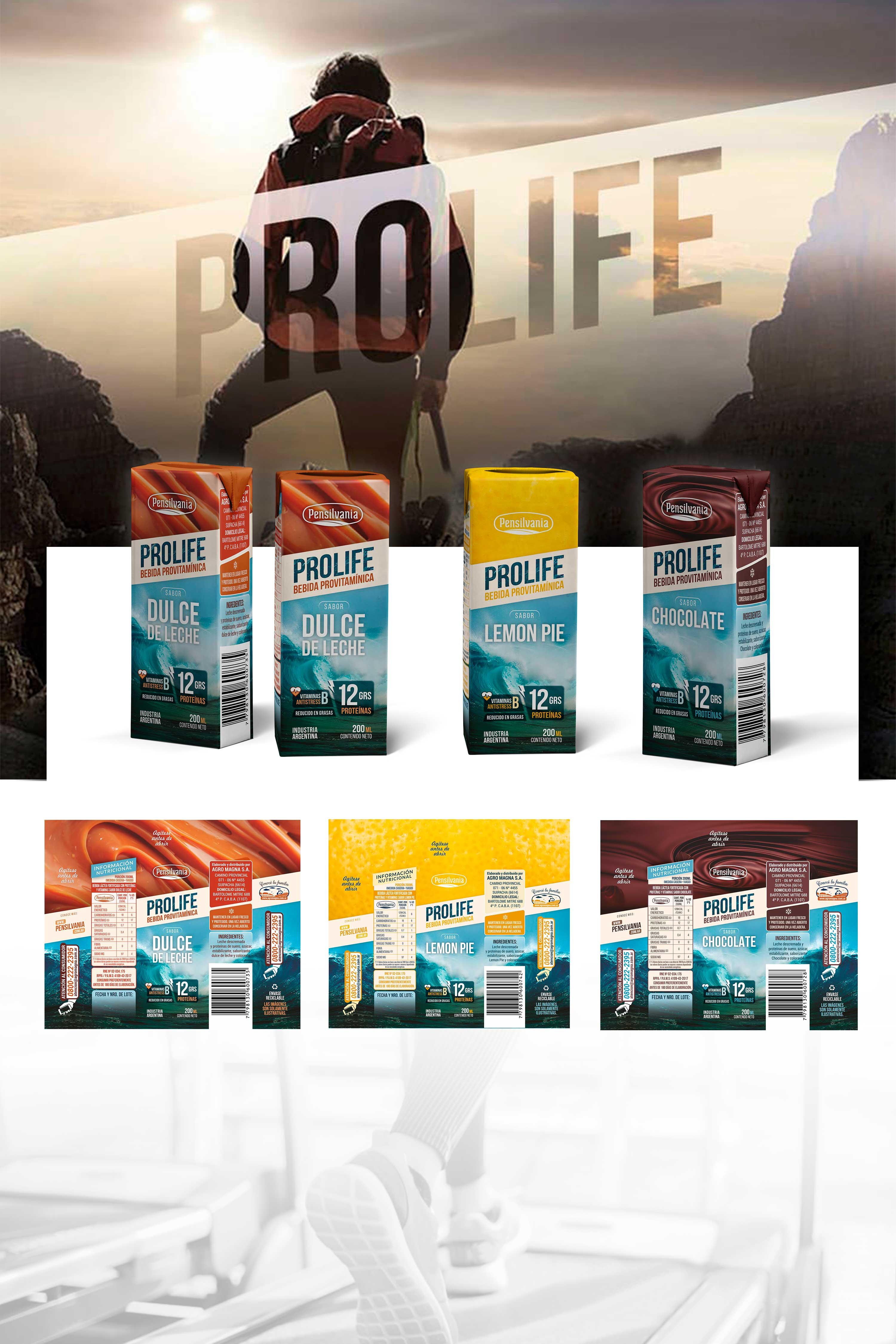 Prolife · Bebida Provitamínica